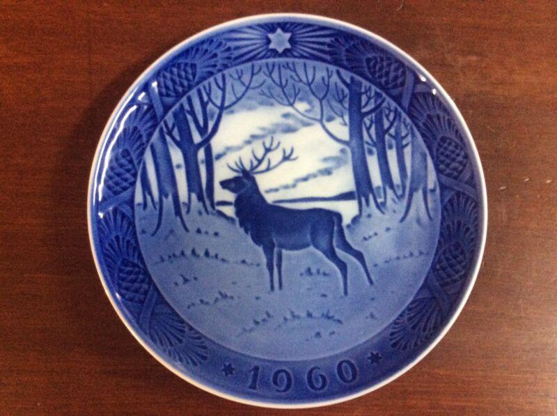 Royal Copenhagen 1960 Christmas Plate