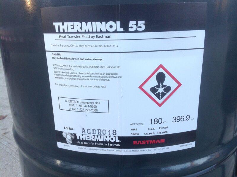 Therminol 55 drum
