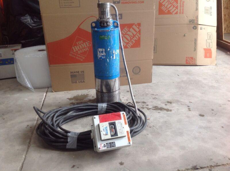 """Mody 3""""  5 HP Sump / Dewatering Pump. M304TEC4"""