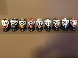 1996 McDonalds Mini Goalie Masks