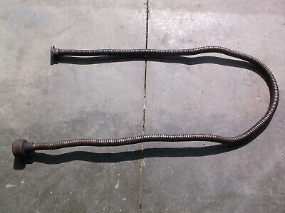 Matag Engine Original 8 Exhuast Pipe With Muffler And Flange