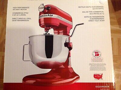 KitchenAid® Pro HD Series 5 Quart Bowl-Lift Stand Mixer, KG25H0XR 475 Watts (Kitchenaid Professional Hd Stand Mixer 475 Watts)