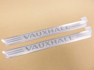 Genuine Vauxhall Insignia B Crossland X Astra K Front Door Sill Protectors Set