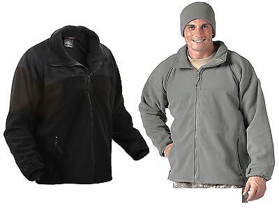 Warm Polar Fleece Jacket ECWCS Gen II Lightweight Cold Weather Liner Polar-fleece Liner