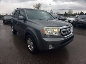 2009 Honda Pilot EX-L/ H.LEATHER/ REVERSE CAM/ DVD/ 8-PASS/ 4X4