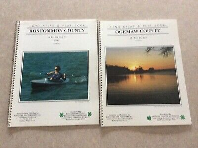 Roscommom & Ogemaw County's Michigan Land & Plat Books