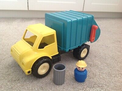 Dustbin Truck With Person And Garbage Bin Toy Personalized Toy Bin