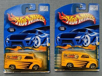2001 HOT WHEELS LOT OF 2  BIG LOU'S DAIRY DELIVERY SERIES