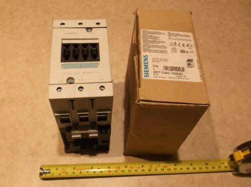 SIEMENS 3RT1045-1BB40 CONTACTOR