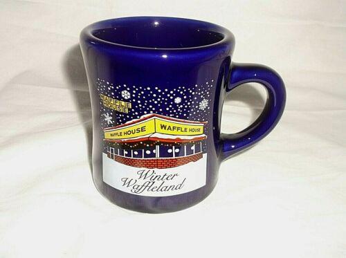 2015 Waffle House Winter Waffleland Coffee Mug House 8 oz Tuxton  Restaurant