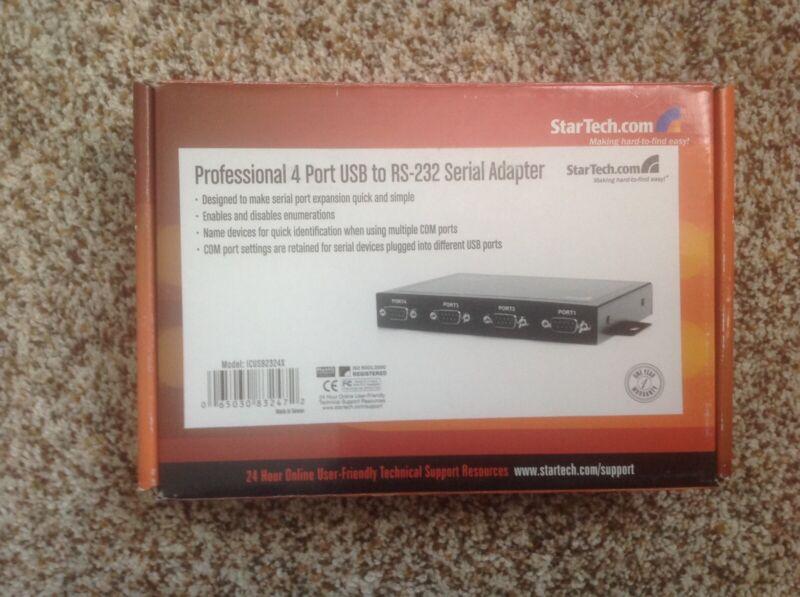 STARTECH.COM ICUSB2324X 4PORT WALL MOUNTABLE USB TO