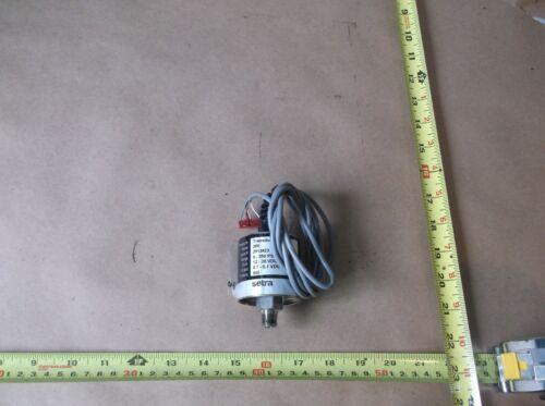 SETRA 206 PRESSURE TRANSMITTER 0-250 PSIG