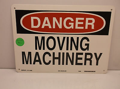 Danger Sign Moving Machinery 10 X 14 Osha Safety Sign A24