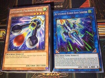 Yugioh Hi-Speedroid Ancient Gear Deck Complete 40 - Cards Extra Deck + Bonus