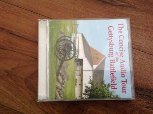The Concise Audio Tour Of The Gettysburg Battlefield 2 Audio CDs 2006  - $9.99