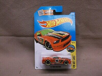 HOT WHEELS 2016 #198 2007 07 FORD MUSTANG STREET OUTLAW FAST & FURIOUS RACE CAR
