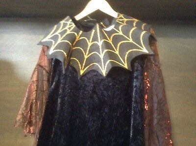 Halloween Adult Costume Spider Queen Size 7/8 DRESS