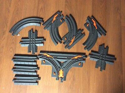 10 Pieces Fisher Price GEO Trax Train Track