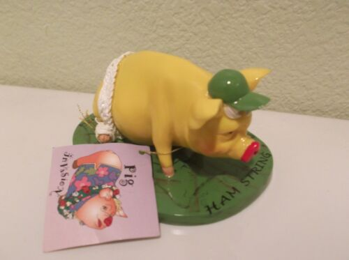 """Pig """"Ham String""""  Figurine by Character Collectibles - Pig Invasion"""