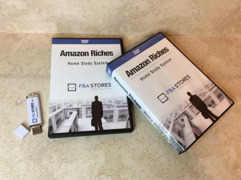 Amazon Riches Home Study System FBA Stores 14 DVDs Course And USB