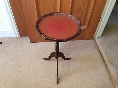 Vintage Wine Table. Vintage Side Table 30cm x 50cm