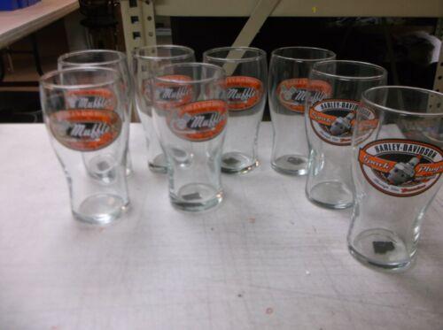 Harley-Davidson Mixed lot of 8 pint glasses