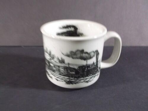Otagiri Steam train ceramic mug