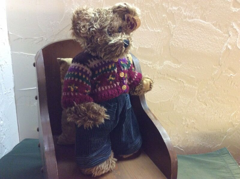 """Vintage Ty Collectible, Grover, 15"""" Teddy Bear, Style 6050"""