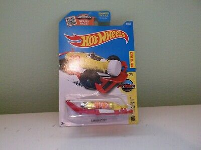 Error Hot Wheels Tool In 1 Series 2/5 Carbonator 32/250, yellow/red No Wheels