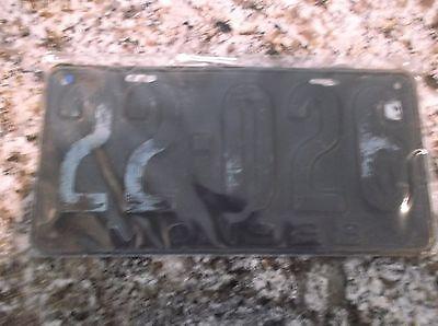 1923 MISSOURI LICENSE PLATE 22 026