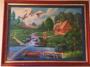Rhinestone mosaic art riverside cottage Beaudesert Ipswich South Preview
