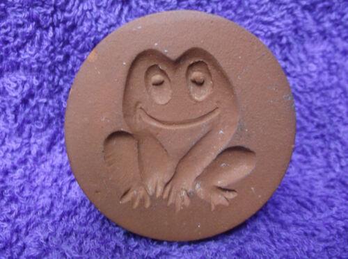 Vintage Rycraft Terracotta/Ceramic Frog Cookie Stamp