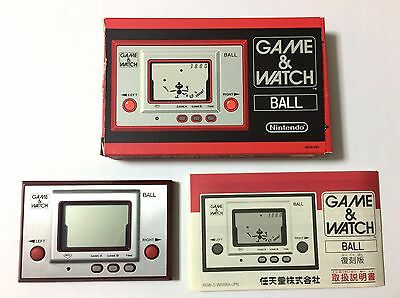 USED Club Nintendo Limited Game & Watch BALL no Stand JAPAN Japanese G and W