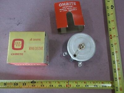 Ohmite Rks5ko Rheostat Potentiometer - Model K Wirewound 100w 5000 Ohm