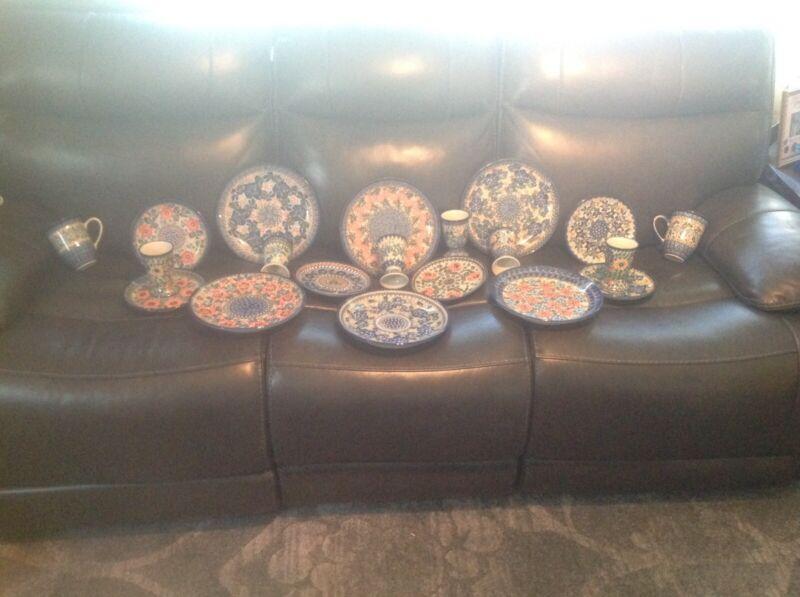 Unikat Polish Stoneware Lot (20) Pieces!!