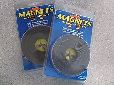 Lot Of 2 Magnetic Strip 10 Ft. L 12 In W 6ya17 B37m