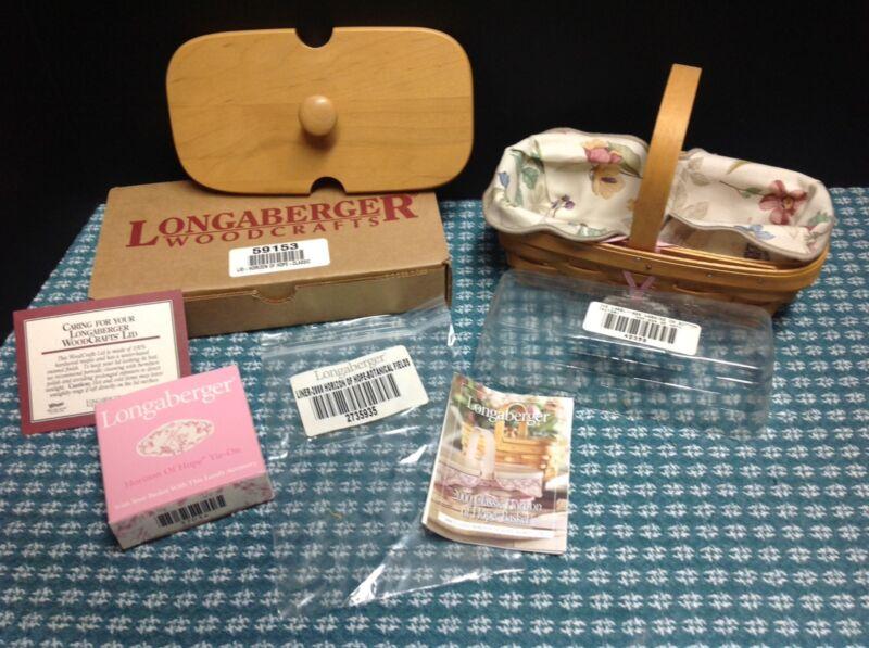 Longaberger Natural 2000 Horizon Of Hope Basket