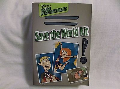 Disney's Kim Possible Save The World Kit. NIB