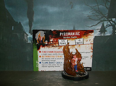 HORRORCLIX Pyromaniac #091,Grey-Unique W/Card The Lab