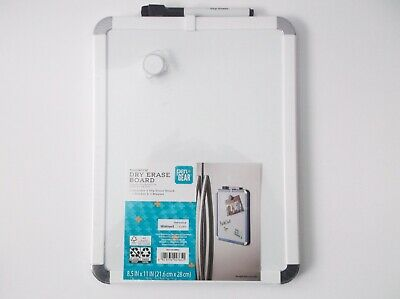 Pengear 8.5 X 11 Magnetic Dry Erase Board - White Trim