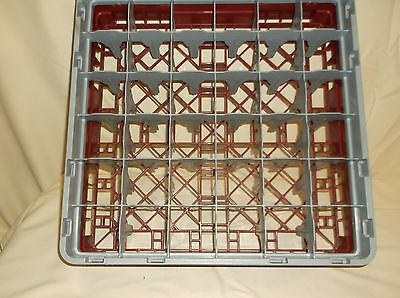 Cambro Commercial Dishwasher Tray Rack 19-34 X 19-34
