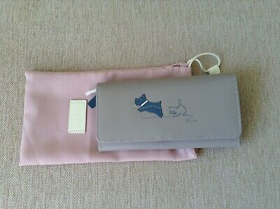 New Without Tags Radley Grey Dog & Cat Purse With A Dust Cover