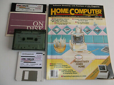 ti994a HomeComputerMagazine 1984 v4 n3 (ORIGINAL) + ON-DISK (REFURBISHED)