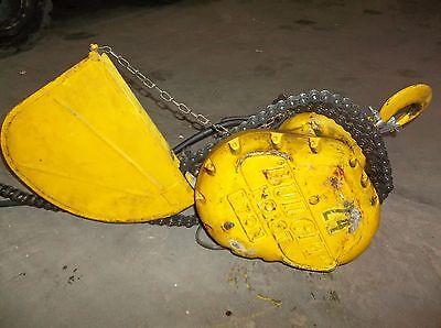 Budgit 408867-2 1 Ton Chain Hoist Electric 2000 Cap Frame Spec C.d5 10ft  31