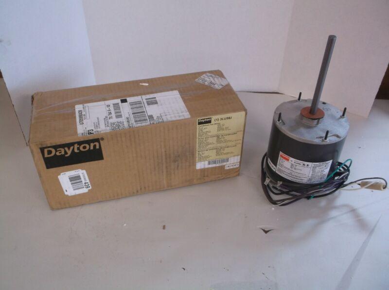 NEW Condenser Fan Motor, 3LU98 (A26T)