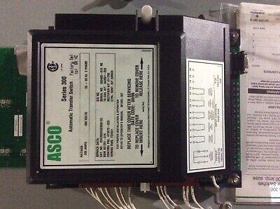 Asco Automatic Transfer Switch 260 Amp 480v 3 Phase