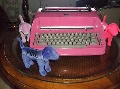 1960s Ibm Antique Selectric I Re-furbished Miami Pink Typewriter 11 Inch