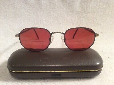 Mario Martinelli 829 49-19 140 M. Ant G/D Steampunk Sunglasses Eyeglass Frame