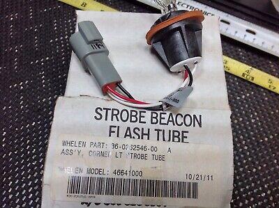 Whelen Strobe Beacon Flash Tube 36-0362546-00 Model 46641000 Nos