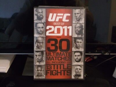 UFC: Best of 2011 (Blu-ray Disc, 2012, 2-Disc Set) IN MINT